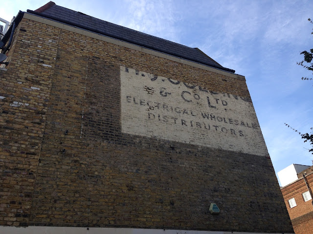 Ghost sign, Clapham Junction, London
