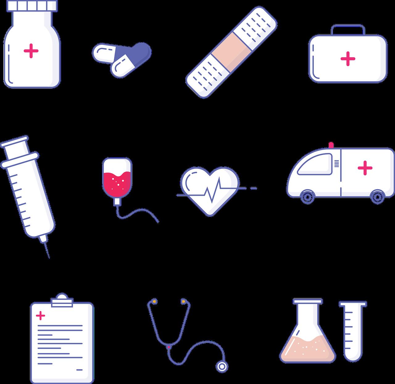 المرض و الصحة في اللغة الانجليزية