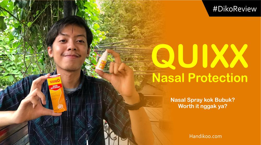 Hidung bisa nafas lega, untung ada QUIXX Nasal Protection!