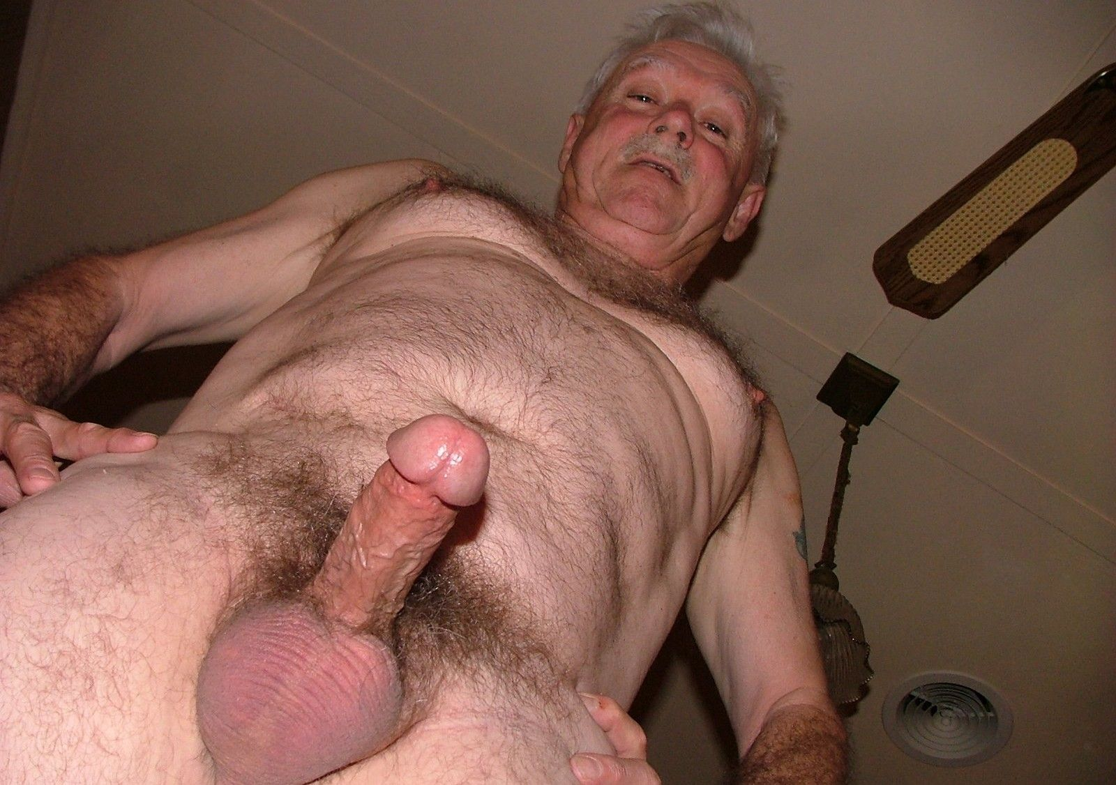 What necessary daddy showes me his big cock