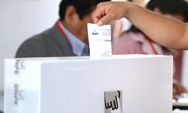 Elecciones 2020: Multa por no votar será de 86 soles
