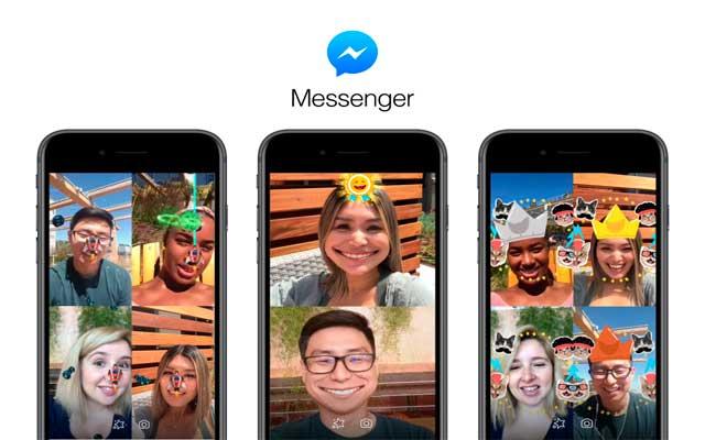 Realidad Aumentanda en Messenger