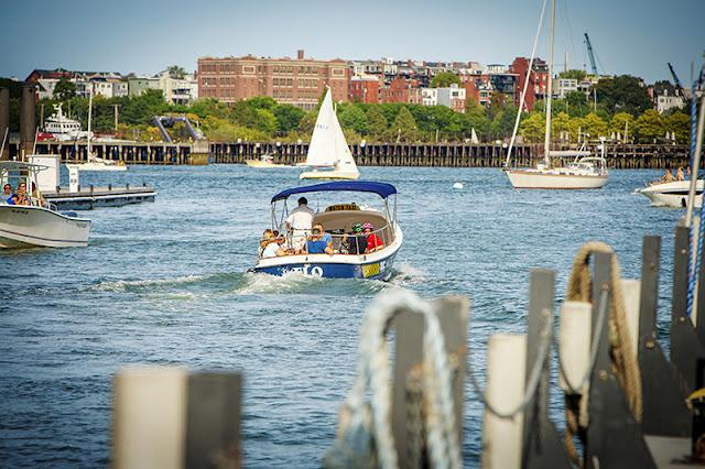 Táxis aquáticos em Boston