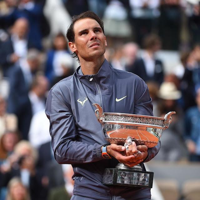 Kalahkan Dominic Thiem, Rafael Nadal Raih Gelar Juara Prancis Terbuka ke 12