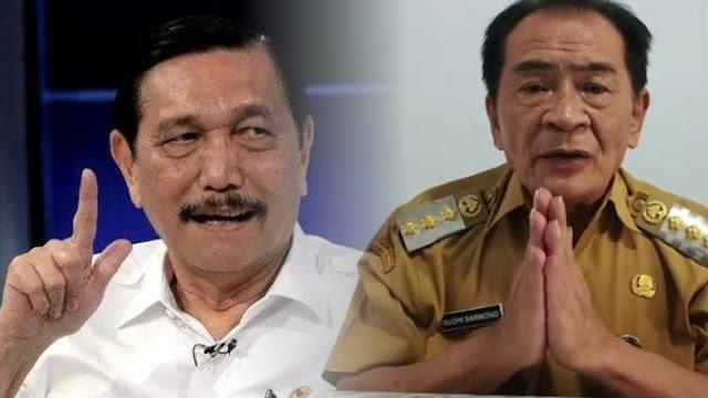 Minta Maaf usai Sebut Luhut Menteri Penjahit, Bupati Banjarnegara: Saya Siap Dikutuk