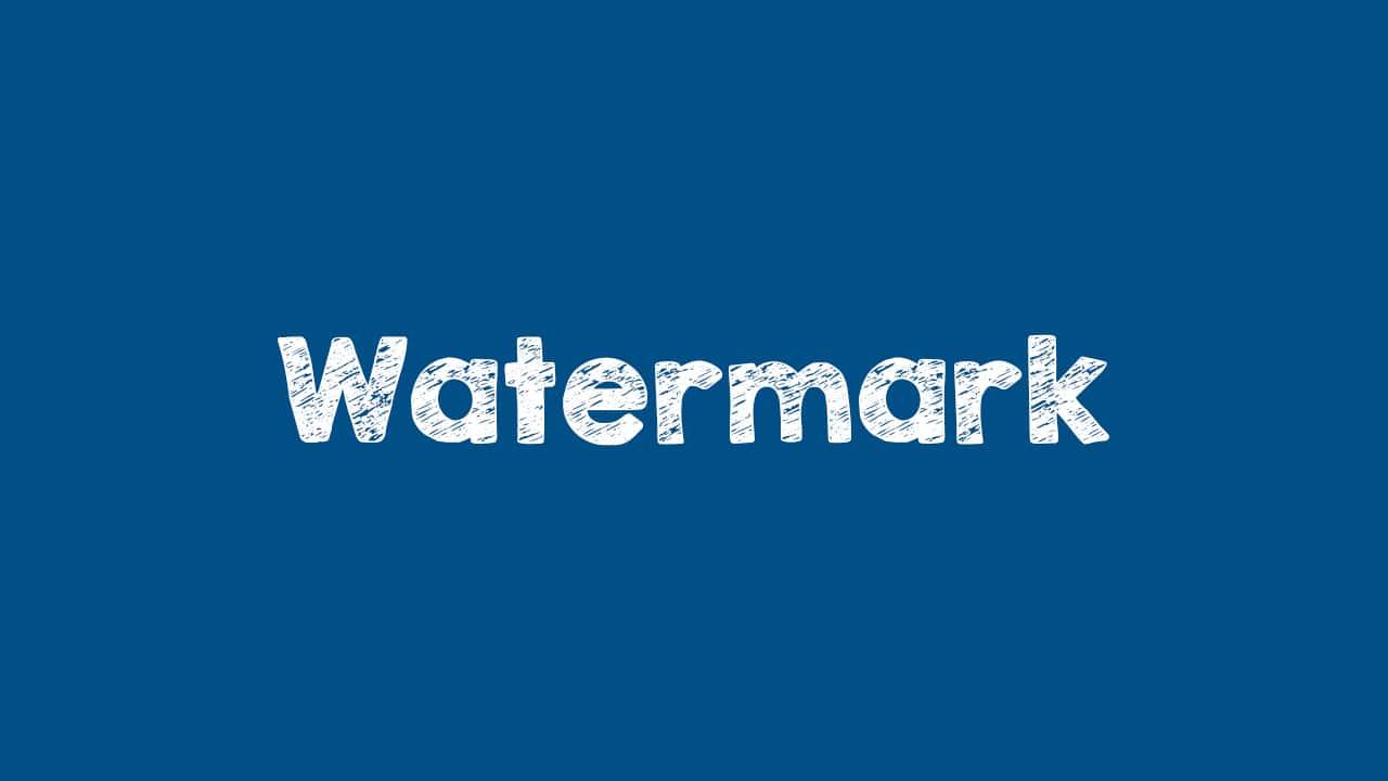Cara Membuat Watermark Blog Otomatis Dengan JQuery