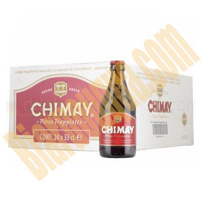 Thùng bia chimay đỏ 24 chai nhập khẩu