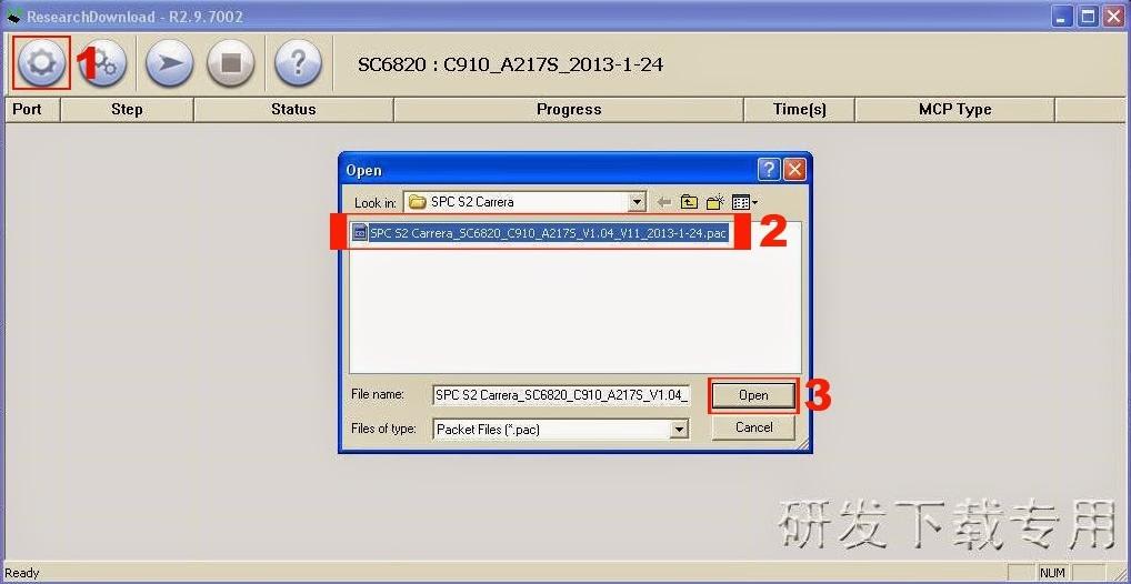 Cara Flash Advan S4P mudah via Research download | Masalah Tekno