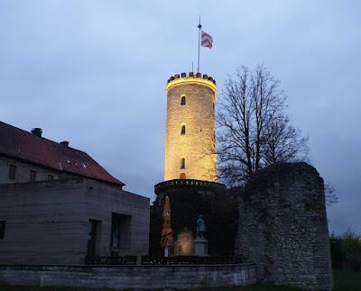 قلعة شبارين بورج في ألمانيا