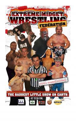 Extreme midget wrestling federation can