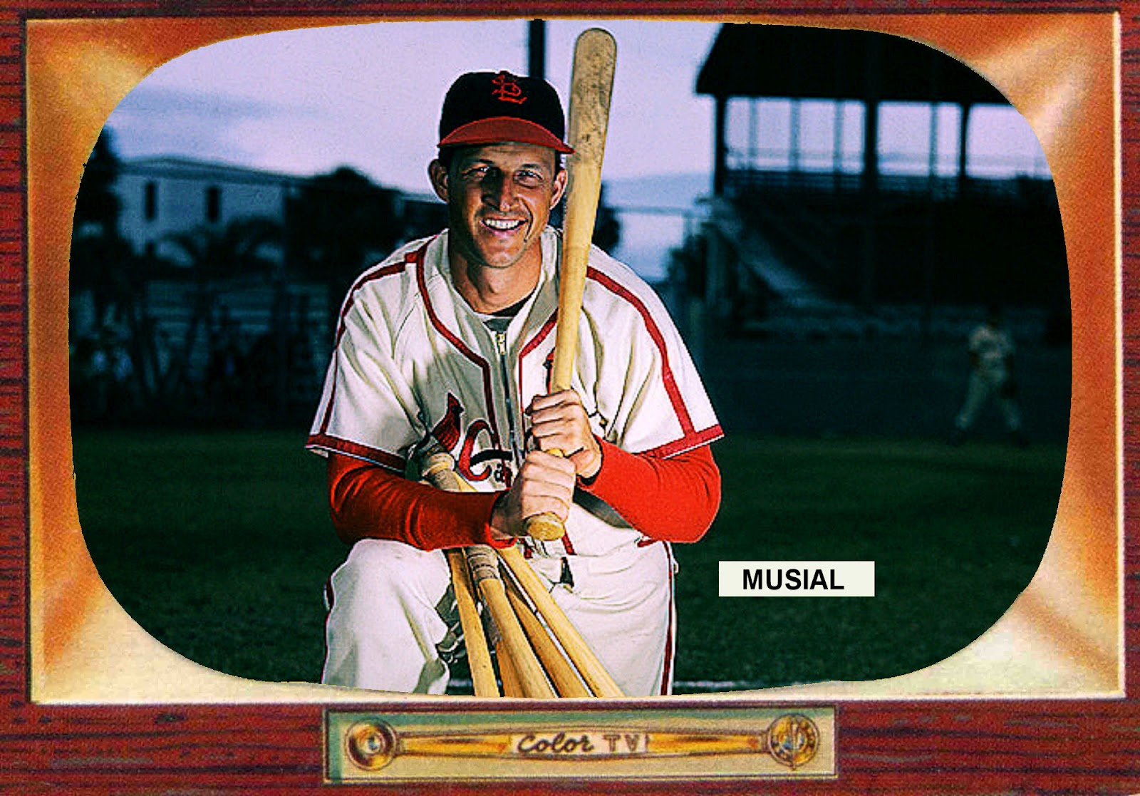 Cards That Never Were 1955 Bowman Stan Musial