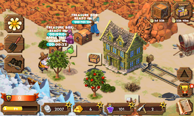 Screenshot: Westbound: Pioneer Adventure for Android