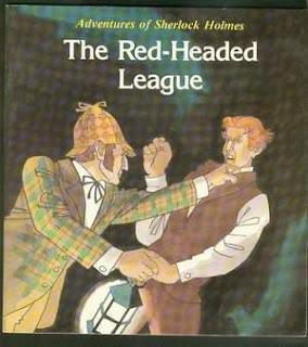 قصة عصبة ذوي الشعر الأحمر كاملة مترجمة - The Red Headed League