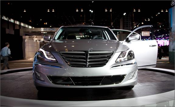 Kendall Self Drive 2012 Hyundai Genesis Review