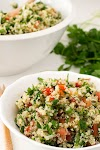 The Best Refreshing & Simple Quinoa Tabbouleh Salad
