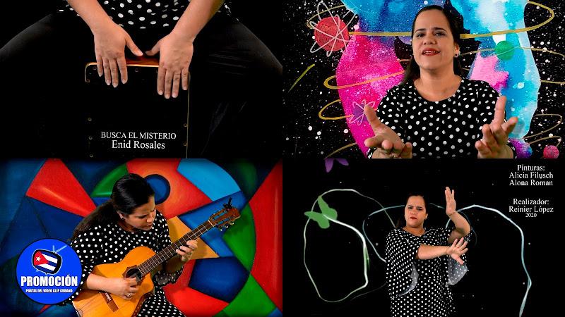 Enid Rosales - ¨Busca el misterio¨ - Videoclip - Director: Reinier López. Portal Del Vídeo Clip Cubano. Música cubana. Tres Cubano. Cuba.