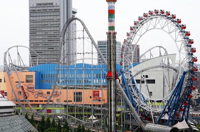 Montanha russa Trovão Dolphin - Tokyo Dome City