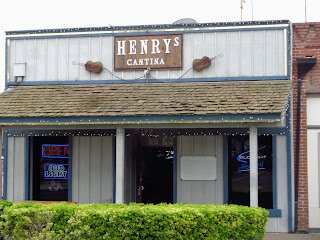 Henry's Cantina in a hundred year old building, Old Town Clovis, California