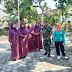 Babinsa Keluarahan Mangkujayan Serka Sujarto Dampingi Tim Penilaian Kelurahan Berseri Dari Provinsi Jatim Th 2018.
