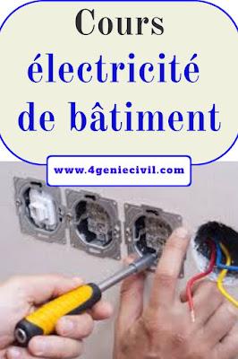 Cours électricité de bâtiment pdf