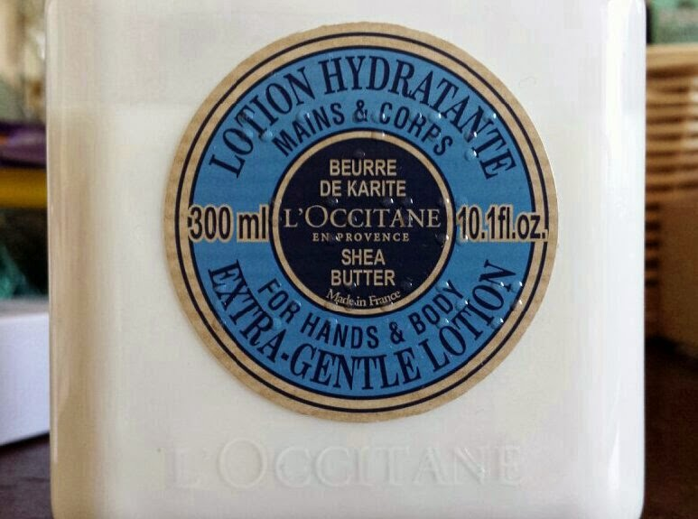 L'Occitane Shea Butter Extra-Gentle Lotion