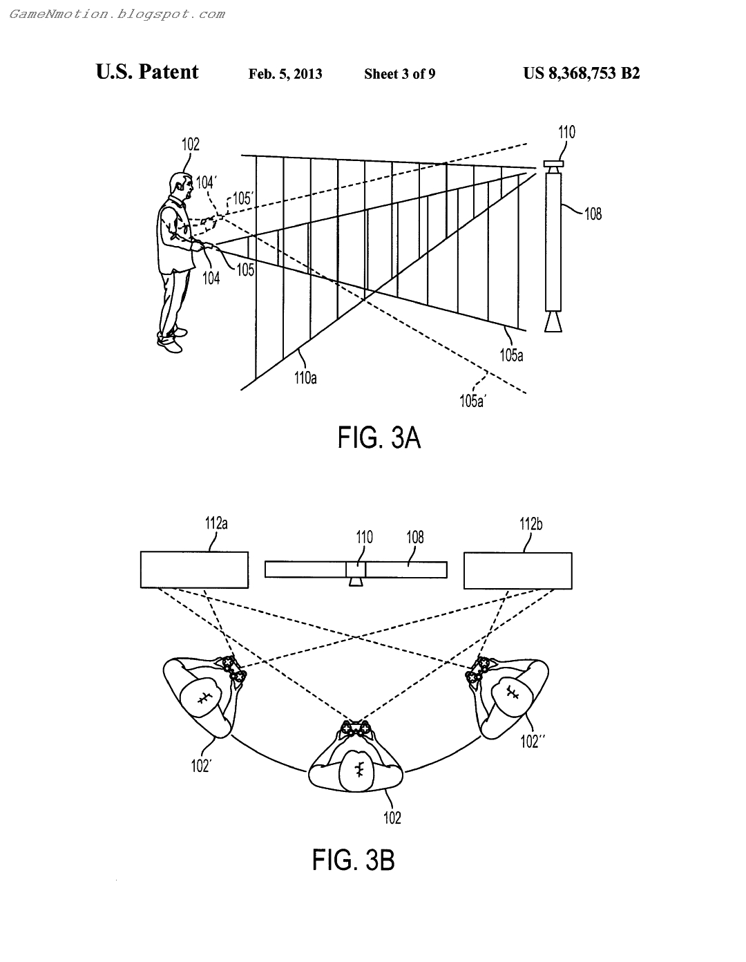 Game'N'Motion: Sony Patent: Controller with an Integrated