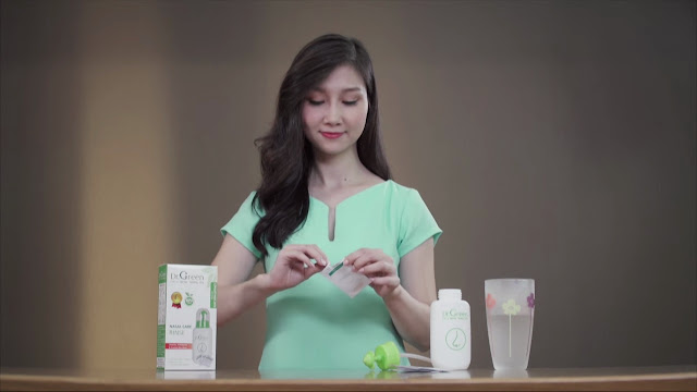 Cách sử dụng bình rửa mũi Dr.Green người lớn tuổi