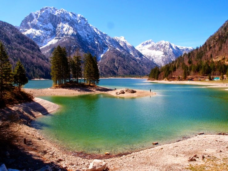 18. Lago del Predil, Italy - 29 Most Exciting Beaches to Visit