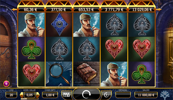 Main Gratis Slot Indonesia - Holmes and the Stolen Stones Yggdrasil