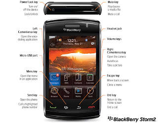 Blackberry Stor 2 9550