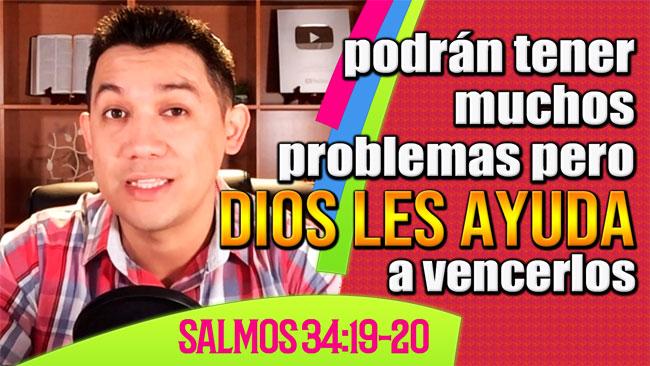 Dios te ayuda a vencer los problemas