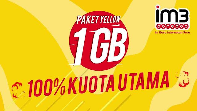Cara Mudah dan Cepat Beli Paket Data Yellow Indosat