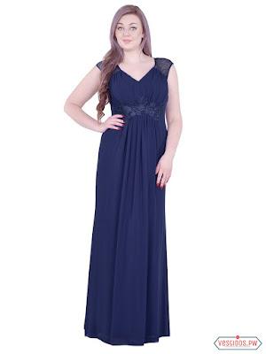 Vestido azul de graduacion