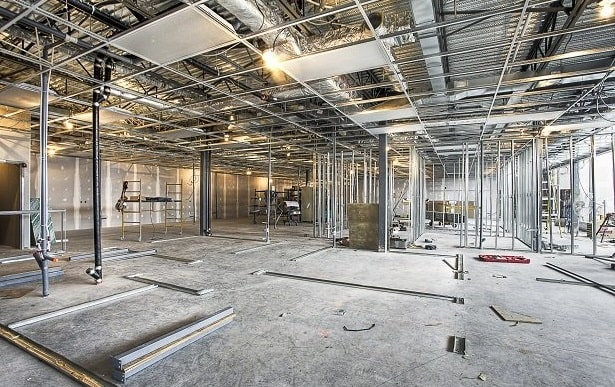 steps successful commercial fit out construction building