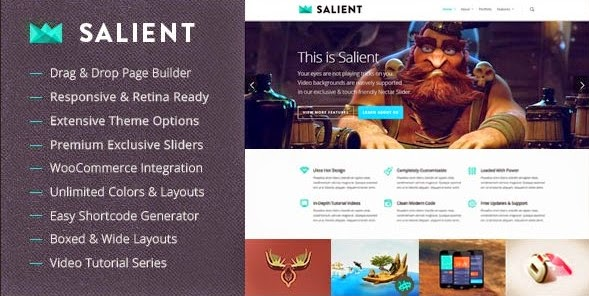 Salient v5.0.1 Responsive Multi-Purpose WordPress Theme