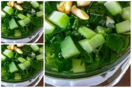 Sayur Bening Bayam Labu Siam