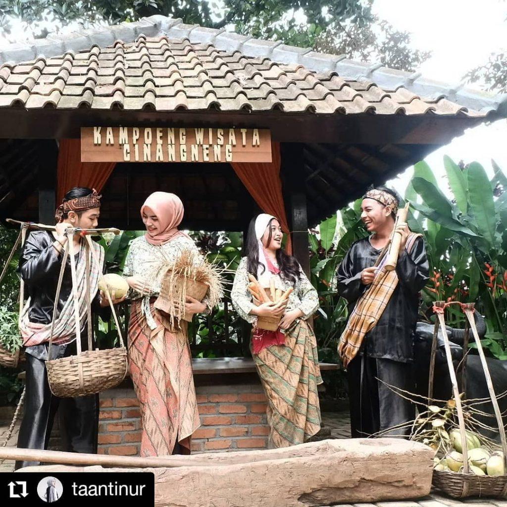 Serunya Pulang Kampoeng Sambil Belajar di Kampoeng Wisata Cinangneng