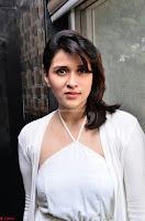 Mannara Chopra in Beautiful Cute Sensual Whtie Designer Dress ~  Exclusive Pics 018.jpg