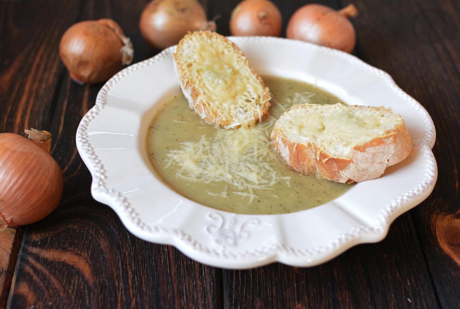 zupa cebulowa szybka