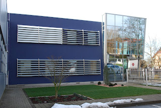 Nova barva fasade podjetja Kev d.o.o..