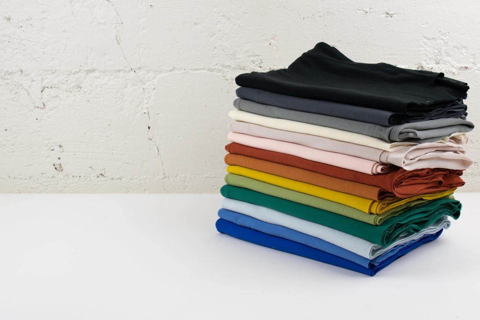 6fcd2c90b0e NEW Birch Organic Solid Jersey Knits & Solid Interlock Knit Colors ...