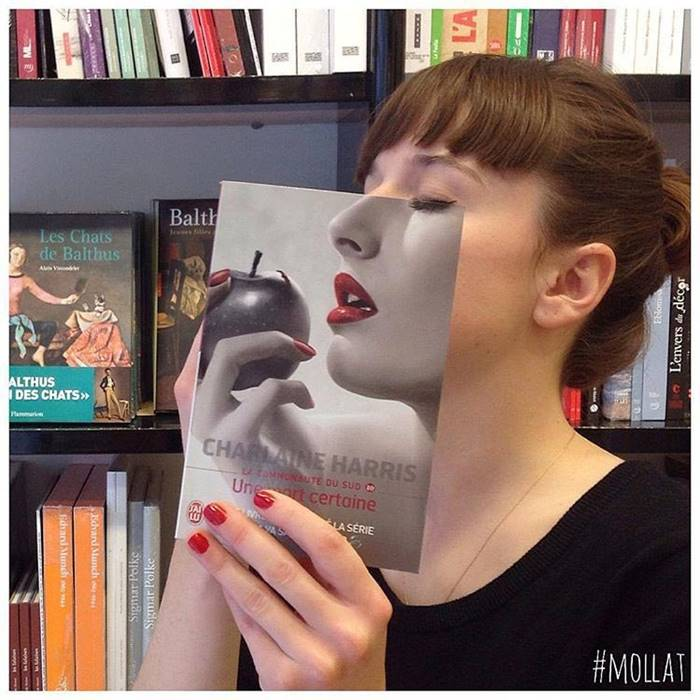 Book Face | Faces align with book cover