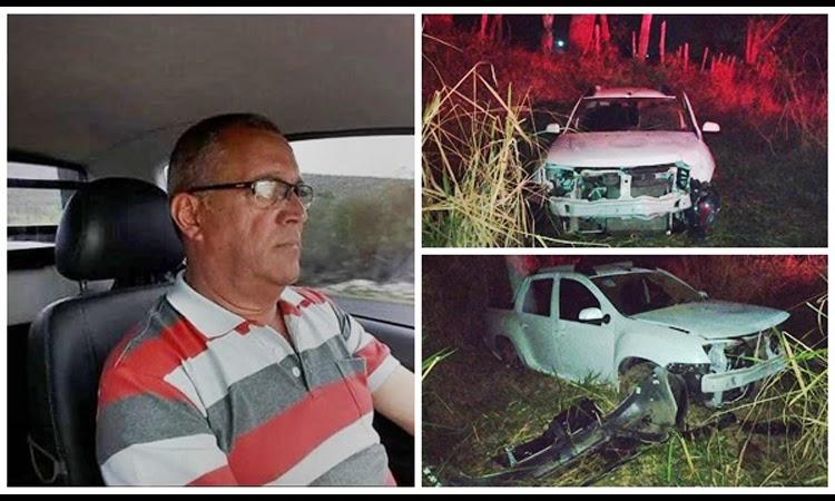 Acidente na BA-250 deixa uma pessoa morta e outra ferida em Lajedo do Tabocal