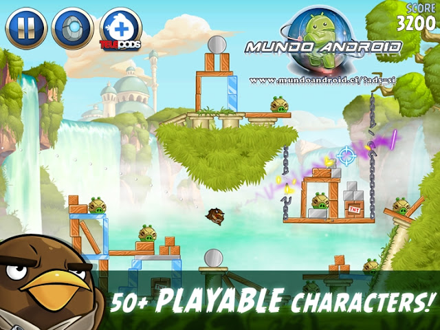 Visualización de Angry Birds Star Wars II
