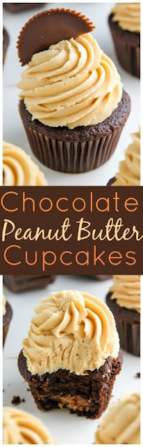 Ultimate Chocolate Peanut Butter Cupcakes Recipe