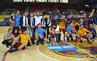 HOCKEY PATINES - Llegó la séptima OK Liga para el Barcelona con 4 jornadas de antelación
