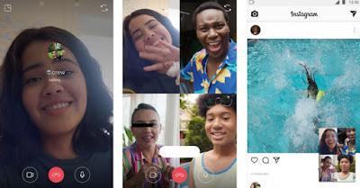 Cara Merekam Vido Call Instagram / IG