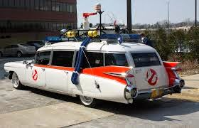 1959 Cadillac Miller-Meteor Ambulance (The Ectomobile) - Film Ghostbusters