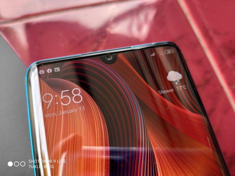 Desain Xiaomi Mi Note 10 Pro