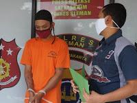 Nganggur Residivis  Rampas Dompet dan Handphone Wanita Di Berbah